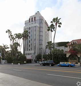 Stake: West Hollywood's Sunset Tower.