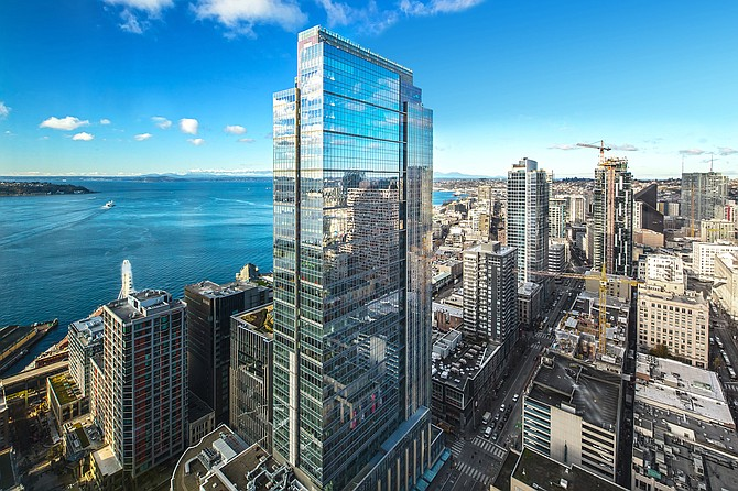 Hughes Marino plans a July opening for its new office in Seattle's Russell Investments Center. -- Photo courtesy of Hughes Marino Inc.
