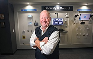 With so many innovations coming to the home security industry, Nortek President Mike O'Neal says the company chose to shift from selling hardware-based products to be more of a provider of components for the industry.