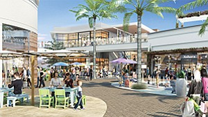 Operators are ramping up the posh factor with Westfield UTC's $600 million renovation and expansion, set for completion this fall. Rendering courtesy of Westfield Corp.