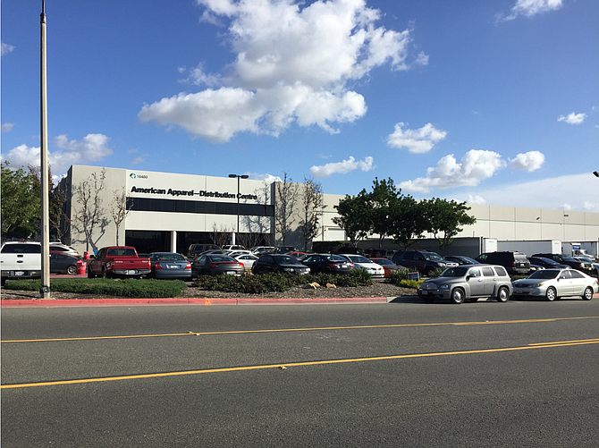 Daiso California is taking over American Apparel's former worldwide distribution center, a 220,000-square-foot warehouse in La Mirada owned by Prologis Inc.