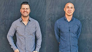 Shane Brennan (left) and Mike Vizcarra, who head Brethren Collective, are among six local hospitality veterans spearheading the new Queensborough restaurant and bar in the Gaslamp Quarter. Photo courtesy of Brethren Collective