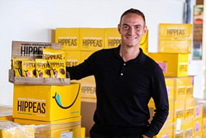 Bagged Backers: Livio Bisterzo has stoked interest in his chickpea brand with an early jump on distribution.
