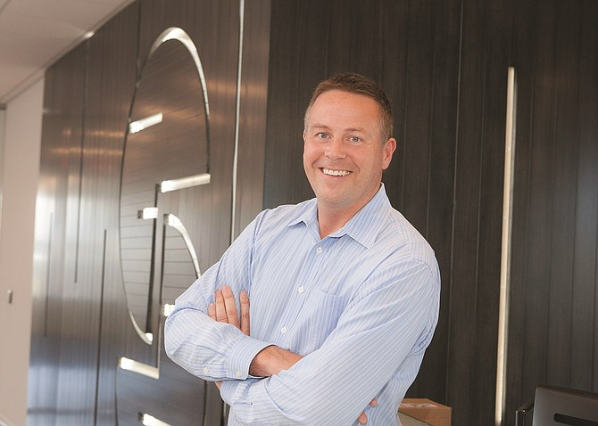 Doug Winter, CEO of Seismic Software Inc., is managing the wave of growth at the company. Success brings its own set of difficulties and decisions. Photo by Melissa Jacobs.