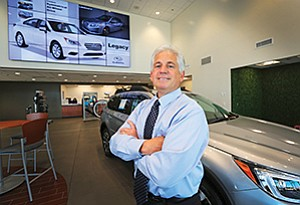 A family-owned business has its plusses and minuses, says Ron Fornaca, president of Frank Hyundai and Frank Subaru.