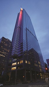 Tall Orders: New Wilshire Grand Center holds 353,000 square feet of office space.