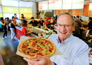 Fuller Plate: Blaze Pizza CEO Jim Mizes.