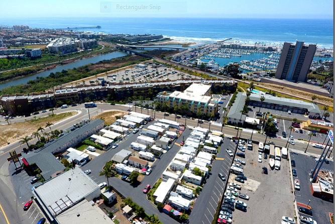 Sandy Shores RV Park in Oceanside -- Photo courtesy of Colliers International Group Inc.