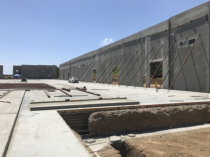 Construction is underway on RAF Pacifica Group's vec•tor in Carlsbad - Photo courtesy of RAF Pacifica Group