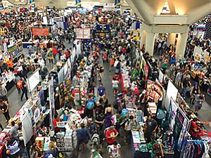 As in past years, about 130,000 attended the 2016 Comic-Con International, including content producers, global media outlets and costumed fans.