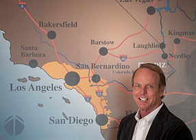 On the Road: Cadiz CEO Scott Slater in a 2013 photo.