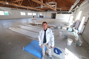 Playing to Win: Steve Arhancet at Team Liquid's future West L.A. training center.