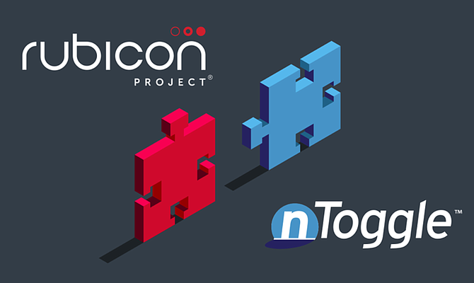Online advertising marketplace Rubicon Project announced Tuesday that it had acquired nToggle Inc. for $38.5 million.