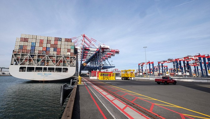 Making Waves: Cosco Shipping is acquiring OOCL, which operates a terminal at the Port of Long Beach's Middle Harbor.