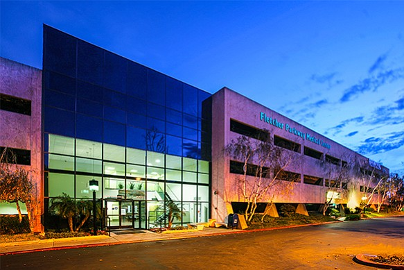 Fletcher Parkway Medical Center in La Mesa -- Photo courtesy of HFF, Bill Robinson