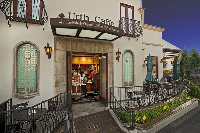 Urth Caffe in Santa Monica.