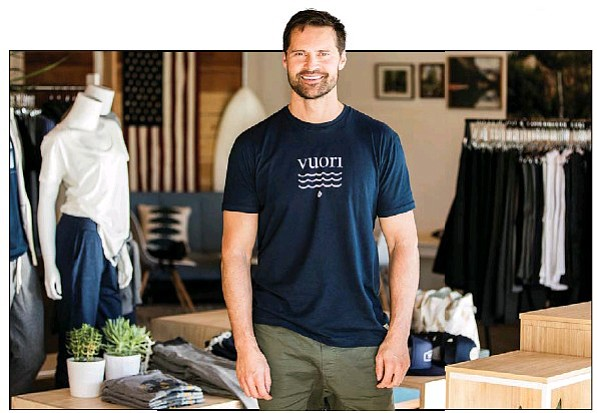 Photo courtesy of Vuori