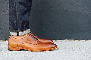 Pinnacle Brand Group Inc. is offering a new line of men's shoes under the Blake McKay brand. DSW is the exclusive retailer. Photo courtesy of Pinnacle Brand Group Inc.
