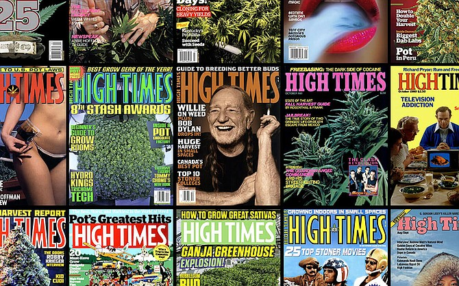 High Times covers.