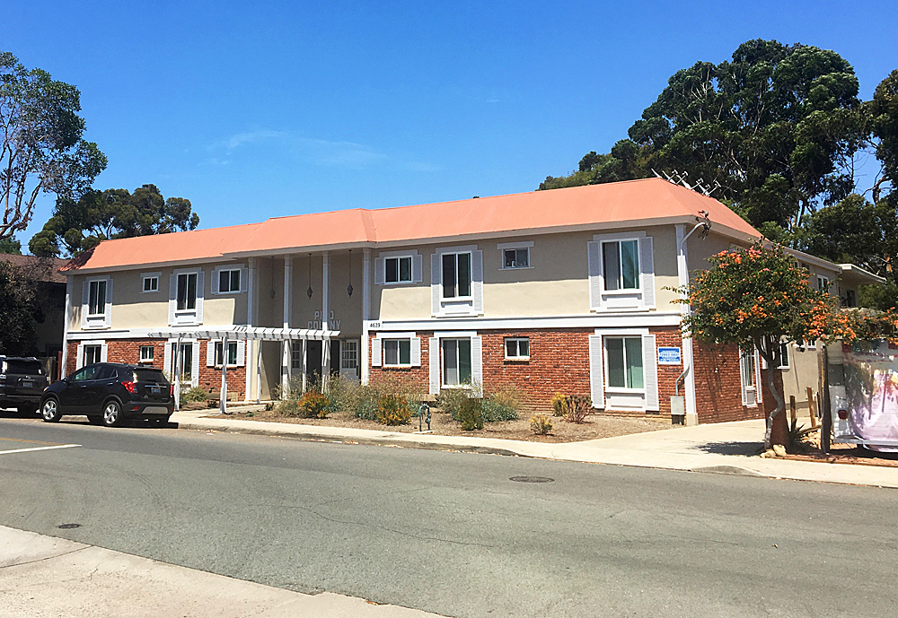 Pacific beach apartment complex sells for million - Apartment complexes san diego ...