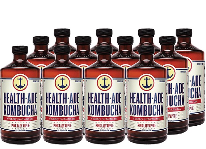 Bottled Up: First Beverage Group got behind Health-Ade Kombucha in 2013.