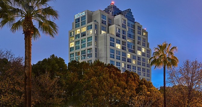 Glendale Hilton Hotel.