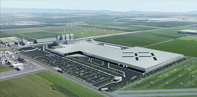Faraday Future Signs Lease on Central Valley Manufacturing.
