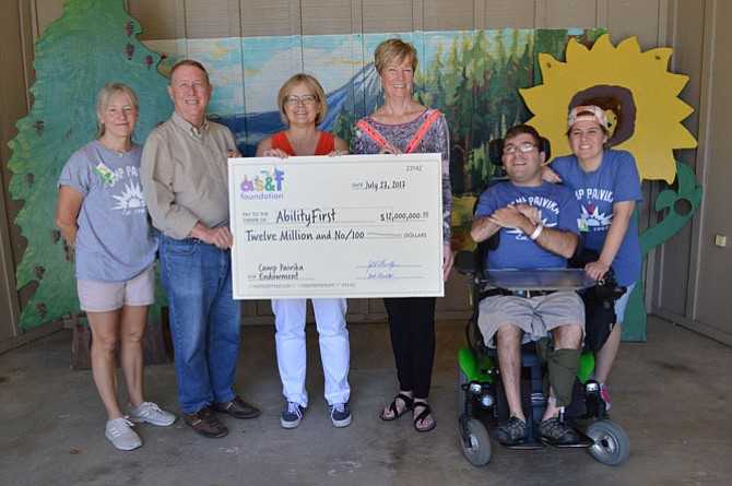 AS&F Foundation of South Pasadena has made a $12 million donation to a Pasadena nonprofit that runs an overnight summer camp in the local mountains for people with disabilities.