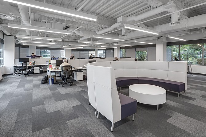 The new UTC location is more modern and open, and will house all of San Diego's EvoNexus startups moving forward. Photo courtesy of EvoNexus/The Irvine Co.
