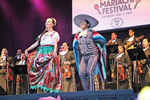 Photo courtesy of Scripps Health Scripps Mercy Outreach Surgical Team celebrated its 30th anniversary with a Mariachi Festival that drew 400 guests.