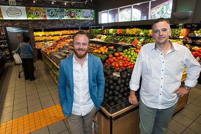 Stacked Up: Erewhon's Yuval Chiprut, left, and Tony Antoci in a July 2015 photo.