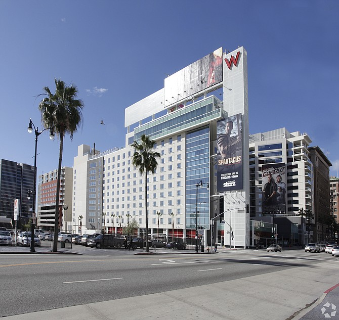 Room for More: The $219 million acquisition of the W Hollywood by a partnership duo was the most expensive hotel deal in California in the first half of this year.