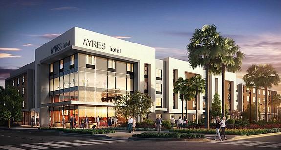 Ayres Hotel at Millenia – Rendering courtesy of Ayres Hotels