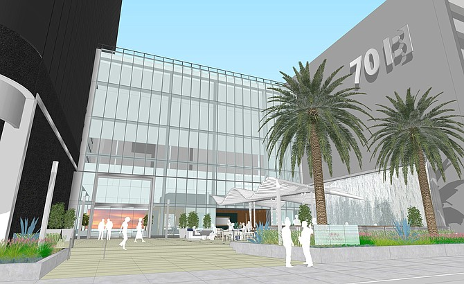 701 B St. - Rendering courtesy of Emmes Realty Services of California LLC