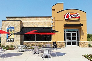 The fast-growing Raising Cane's Chicken Fingers (a Texas restaurant is shown here) will make its local debut in Santee in early 2018. Photo courtesy of Raising Cane's Chicken Fingers