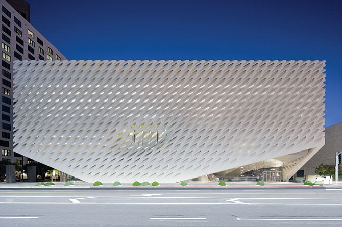The Broad Museum.