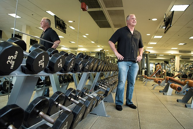 Heavy Lift: Curtis Harman of Harman Fitness plans to invest $1 million to upgrade equipment at Bay Club in Thousand Oaks.