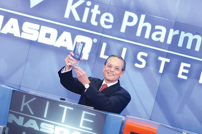 Arie Belldegrun of Kite Pharma