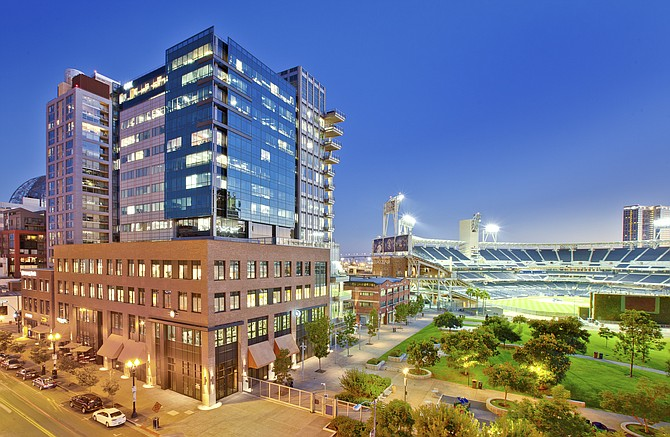 DiamondView office tower in downtown San Diego -- 