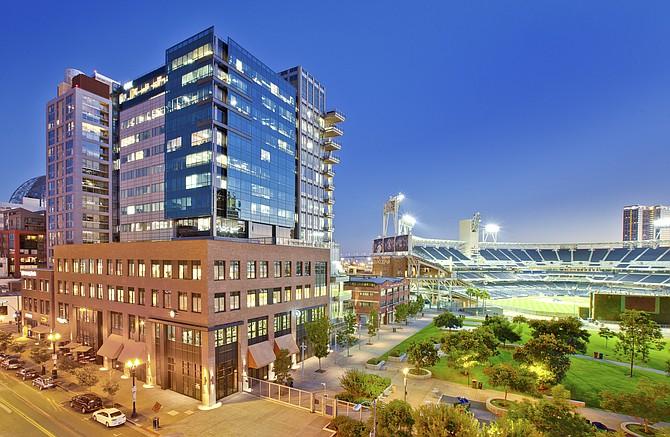 DiamondView office tower in downtown San Diego --  Photo courtesy of Cruzan