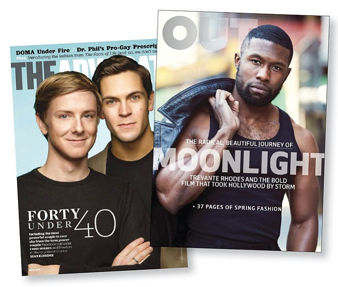 Niche Appeal: Oreva Capital has acquired Here Publishing,   which owns LGBTQ magazines The Advocate and Out.