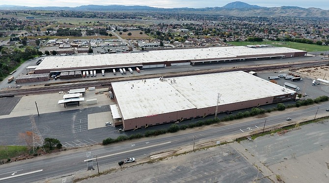 Antioch Distribution Center -- Photo courtesy of Westcore Properties