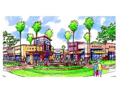 Rendering: Anaheim beer halls planned