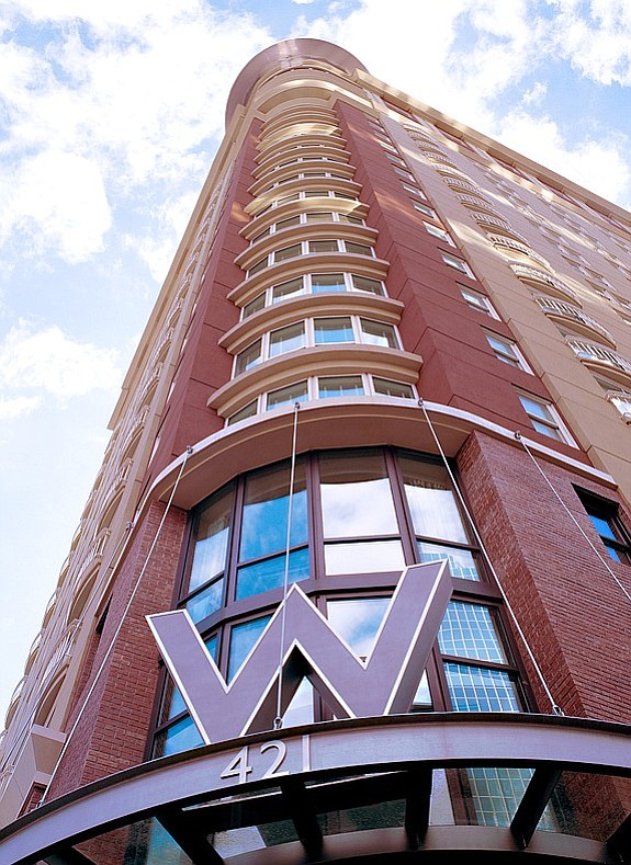 Downtown San Diego's former W hotel will soon be operating as Hotel Republic San Diego. -- File photo courtesy of W Hotel