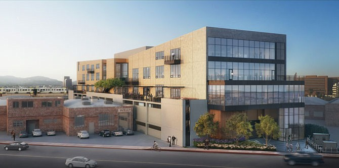 Checking In: Rendering of Luzzatto's West L.A. office development.