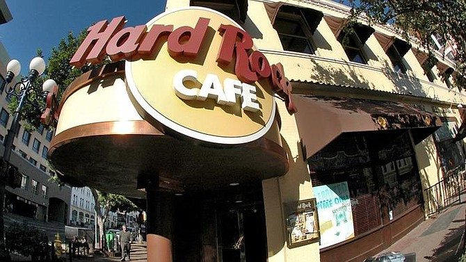 Photo courtesy of Hard Rock Cafe International Inc.