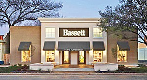 A local licensee plans to open a new Bassett Home Furnishings store at the La Jolla Village Square retail center. Photo courtesy of Pacific Coast Commercial