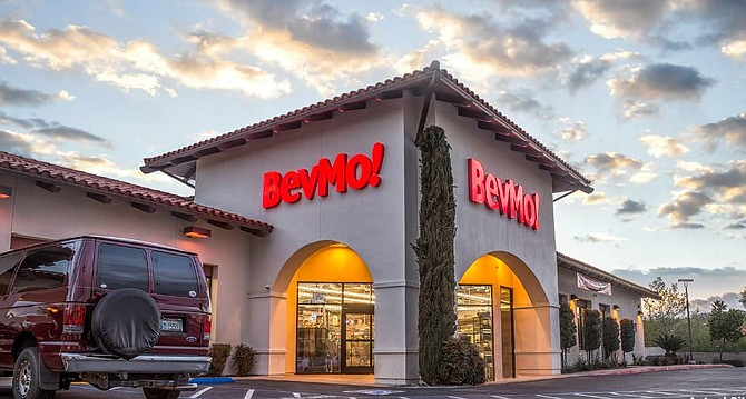 This retail building, in the unincorporated community of Rancho San Diego, is at 3777 Willow Glen Drive. -- Photo courtesy of Retail Insite