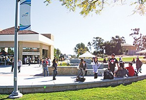 MiraCosta College's Oceanside campus was selected as one of 15 community colleges in California to pilot a bachelor's degree program.  Photo courtesy of MiraCosta College