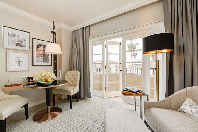 The Iconic Five Star Four Seasons Hotel Los Angeles At Beverly Hills Is Undergoing A Complete Interior Redesign Of All 285 Guest Rooms And Suites